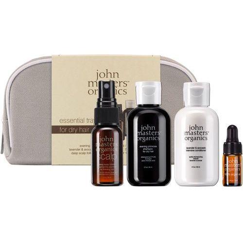 JMO Essential Travel Kit for Dry Hair 60ml+60ml+30ml+3ml
