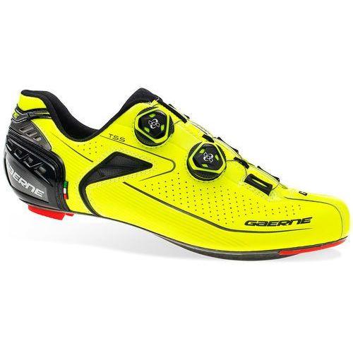Gaerne Composite Carbon G.Chrono+ Buty Mężczyźni żółty US 9 (43) 2018 Buty rowerowe