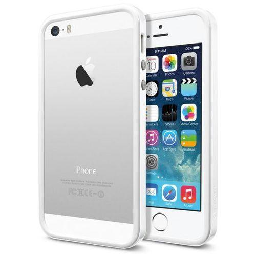 Etui SPIGEN SGP10032 do Iphone 5S/5 SGP10032 Biały, kolor biały