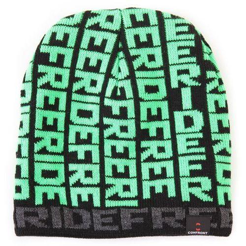 CONFRONT CZAPKA ZIMOWA AXE FREERIDE GREEN 372 - produkt z kategorii- Nakrycia głowy i czapki