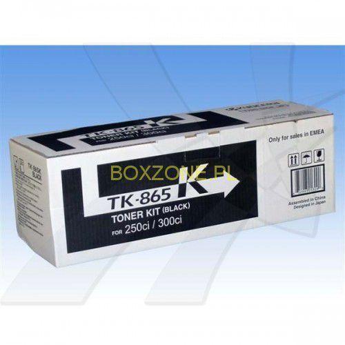 Kyocera oryginalny toner TK865K, black, 20000s, 1T02JZ0EU0, Kyocera 250Ci/300Ci