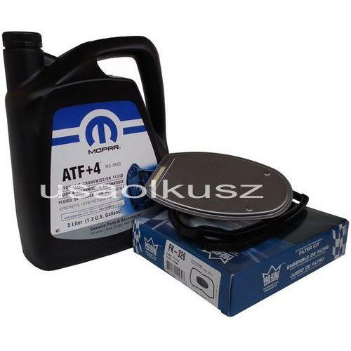 Olej MOPAR ATF+4 oraz filtr automatycznej skrzyni biegów NAG1 Dodge Durango 2011-