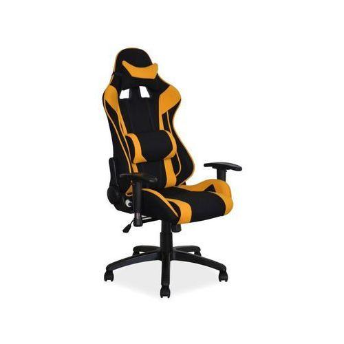 Fotel Signal Viper gamingowy - żółty/czarny, S-VIPER-cz/zół