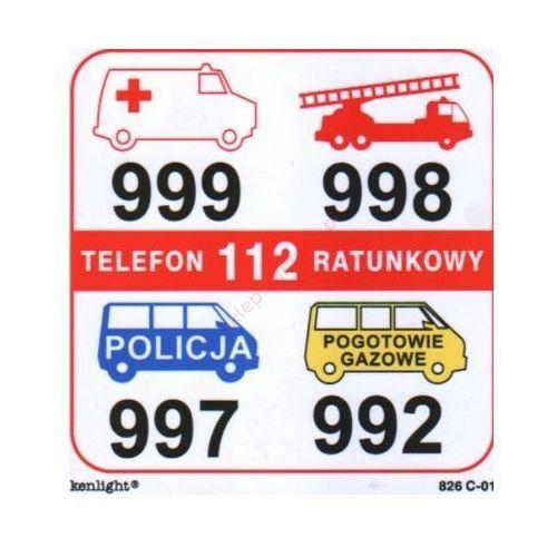 Znak Telefony alarmowe (01) FB