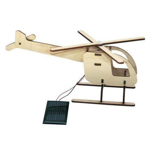 Helikopter drewniany solarny, Sol Expert 40260, 18 x 12,5 x 6,5 cm, 40260