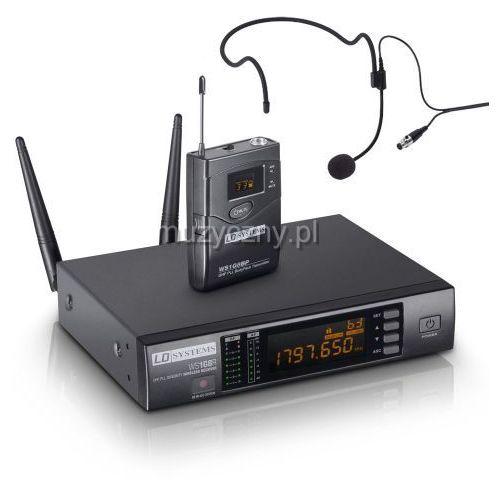 LD Systems WS 1G8 BPHH mikrofon bezprzewodowy nagłowny