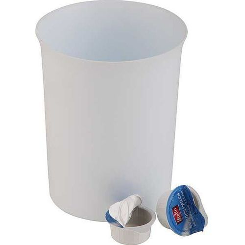 Outlet - stołowy pojemnik na odpadki z tworzywa san | Ø110x140 mm marki Aps