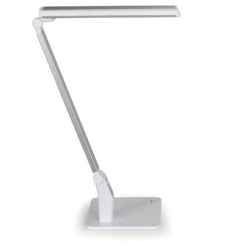Lampa stołowa flexible, srebrna marki B2b partner