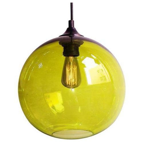 CANDELLUX EDISON 31-29546 Lampa wisząca 25 1x60W E27 zielony + żarówka, kolor Zielony