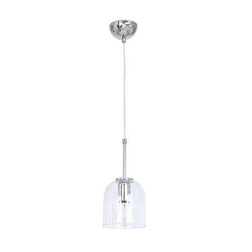 Lampa wisząca zwis żyrandol Luminex Felipe 1x60W E27 przezroczysty 7785