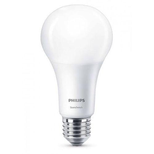 Philips Żarówka led 14w ssw (100w) 3 tryby świecenia a67 e27 ww fr nd 1bc/6 2700-2500-2200k 1521-600-150lm sceneswitch 929001336601