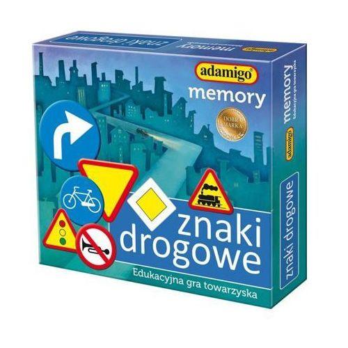 Gra Memory Znaki Drogowe - DARMOWA DOSTAWA OD 199 ZŁ!!! (5902410007318)