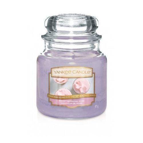 Świeca YANKEE słoik średni Sweet Morning Rose - 1611851E