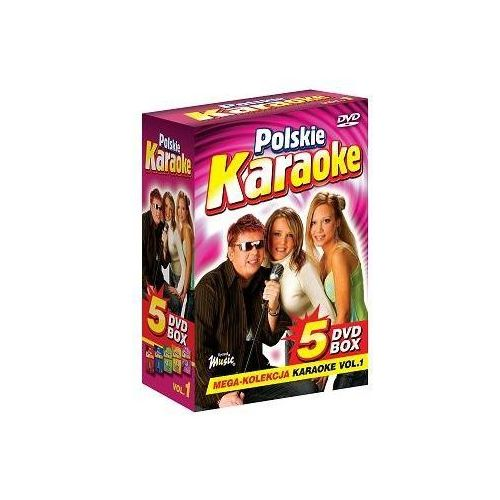 Ryszard music Polskie karaoke vol. 1 - mega kolekcja karaoke (5 płyt dvd) (5902143600053)