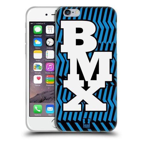 Etui silikonowe na telefon - live bmx bicycle motocross marki Head case