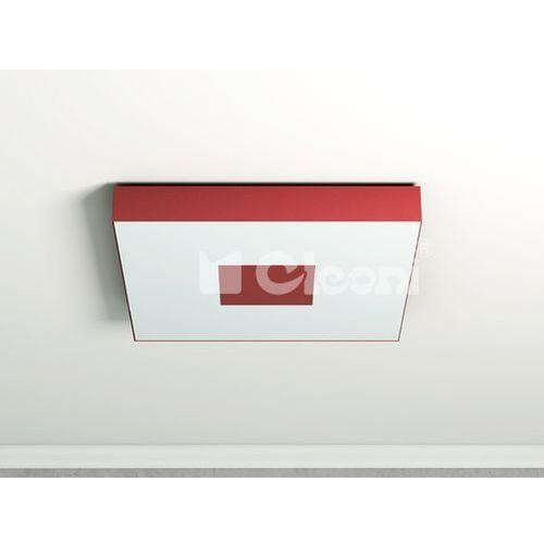 Plafon vandura 70x70cm 4x60w e27 1139p61  - różne kolory wykończenia marki Cleoni