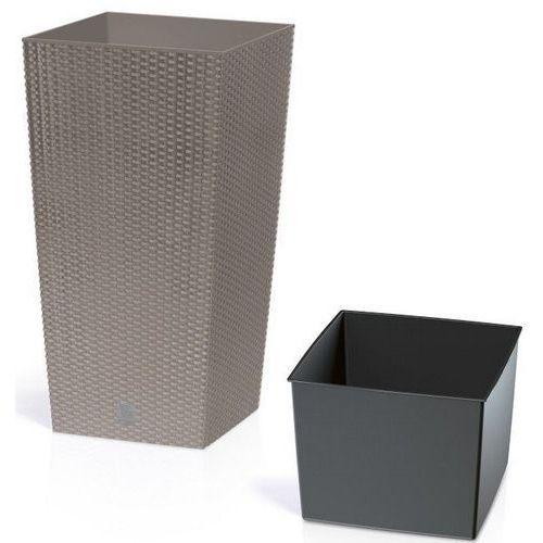 Prosperplast Donica rato square drts325 mocca + zamów z dostawą jutro! + wiosenna cena! sprawdź ofertę