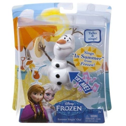Frozen wakacyjny olaf z dźwiękami od producenta Mattel