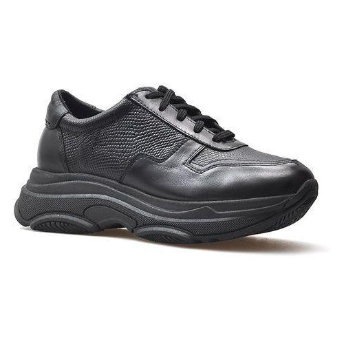 Sneakersy 19001 czarne+rio lico, Nessi