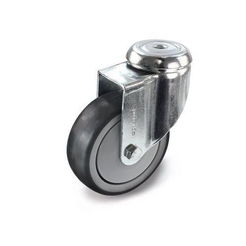 Ogumienie, termoplastyczne, z otworem tylnym, Ø x szer. kółka 75x25 mm, rolka sk marki Proroll