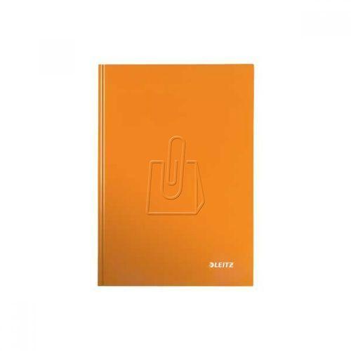 Brulion Leitz Wow A5 80 kratka twarda oprawa pomarańczowy 46281044, BP812948