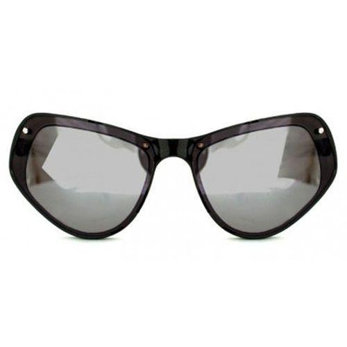 Okulary Słoneczne Spitfire Ultra Select Double Lens Black/Black/Silver Mirror
