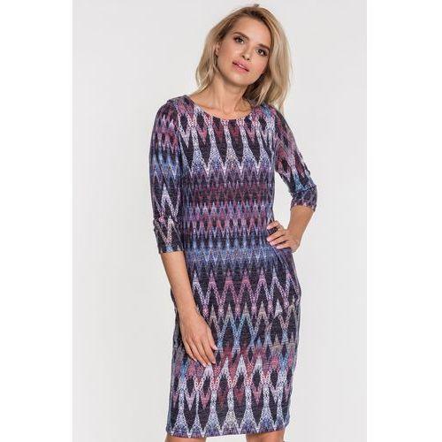 Wzorzysta sukienka - marki Studio mody pdb