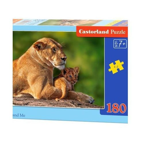 Castor 180 elementów lwy - mama i ja - darmowa dostawa od 199 zł!!! (5904438018246)