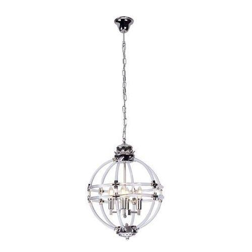 Lampa wisząca oxford p0322 4x40w e14 chrom marki Maxlight