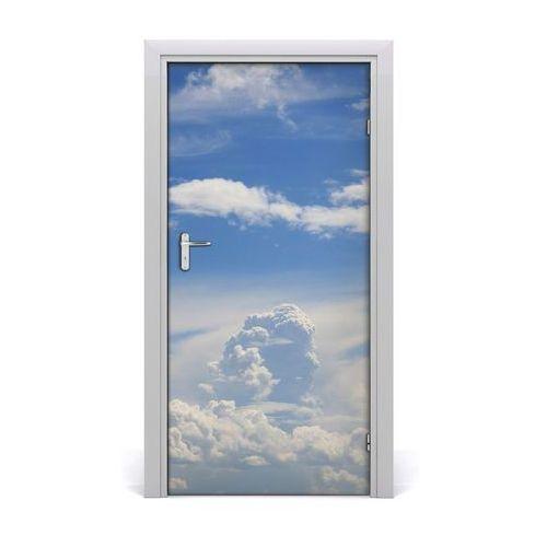 Naklejka na drzwi samoprzylepna Chmury na niebie