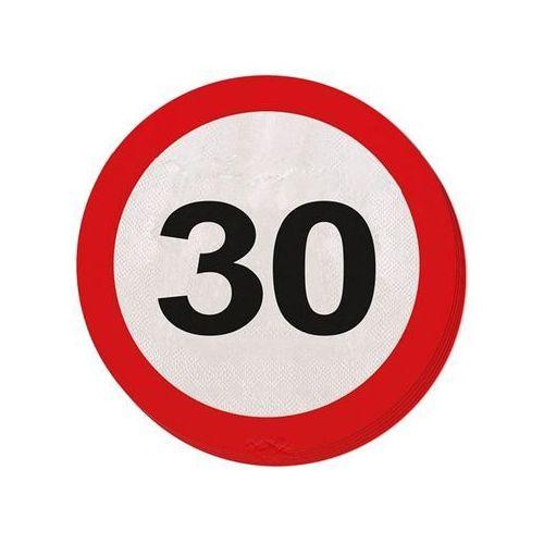 Serwetki Znak zakazu 30tka - 33 cm - 20 szt.