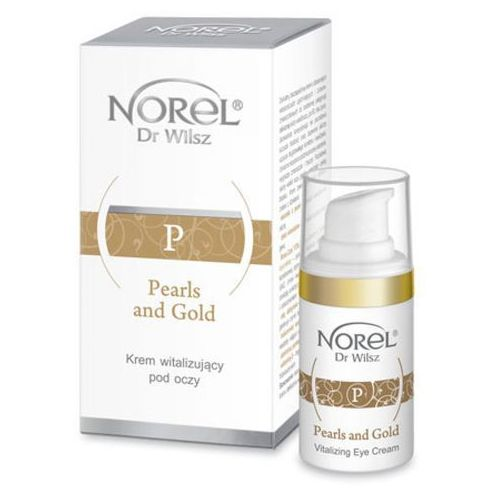 pearls and gold vitalizing eye cream krem witalizujący pod oczy (dz051) marki Norel (dr wilsz)