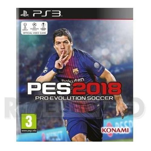 OKAZJA - Pro Evolution Soccer 2018 (PS3)