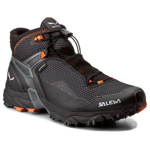Trekkingi SALEWA - Ultra Flex Mid Gtx GORE-TEX 64416-0926 Black/Holland 0926, kolor czarny