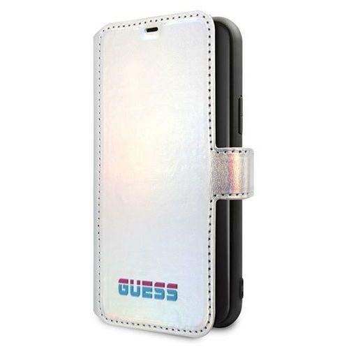 Guess GUFLBKN65BLD iPhone 11 Pro Max (srebrny), kolor szary