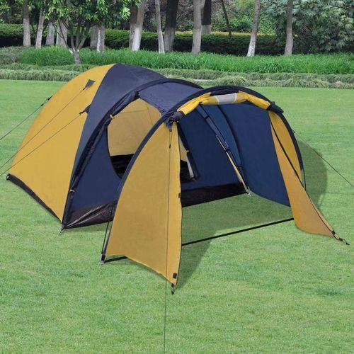 namiot 4-osobowy żółty marki Vidaxl