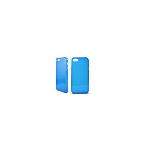 KSIX Etui FLEX dedykowane do Apple iPhone SE/5S/5 przeźroczyste - niebieskie Odbiór osobisty w ponad 40 miastach lub kurier 24h z kategorii Futerały i pokrowce do telefonów