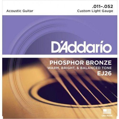 D'Addario EJ-26 struny do gitary akustycznej
