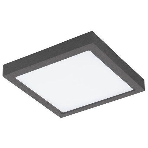 Plafon Eglo Argolis 96495 lampa sufitowa kinkiet 1x22W LED antracyt/biały