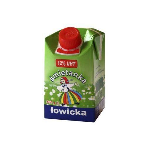 Łowicz Śmietanka do kawy 12% 500g.