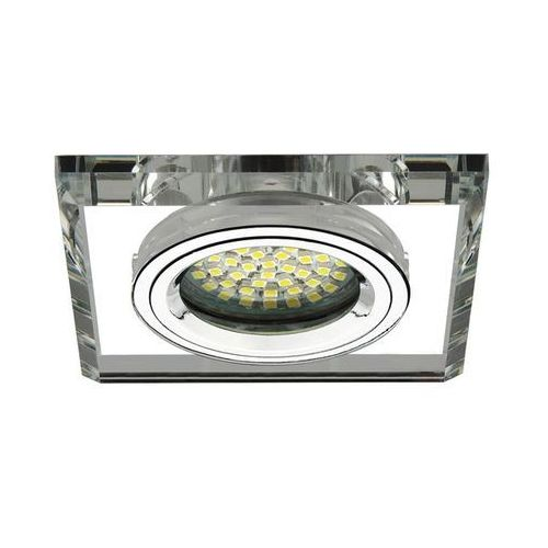 Kanlux morta ct-dsl50-sr 18512 oczko lampa sufitowa wpuszczana downlight 1x50w gx5,3 srebrne