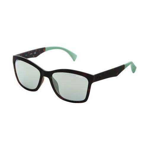 Okulary przeciwsłoneczne damskie GUESS - GU7434-86