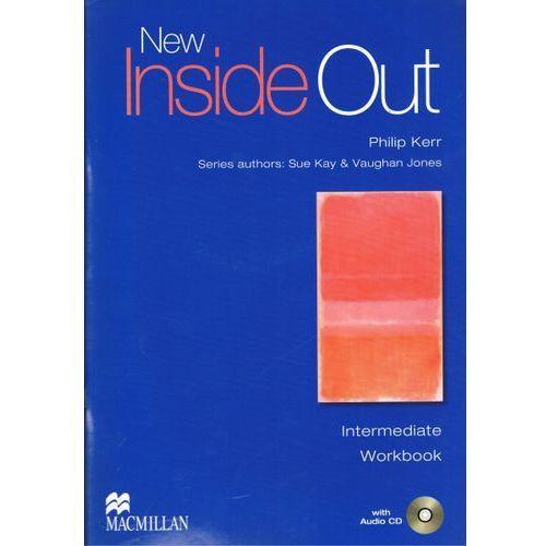 New Inside Out Angielski część 4 ćwiczenia bez klucza + audio CD Intermediate (9781405099684)