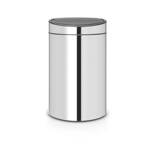 Brabantia - kosz touch bin do segregowania 10+23 l - wiaderko plastikowe - stal polerowana - stal polerowana