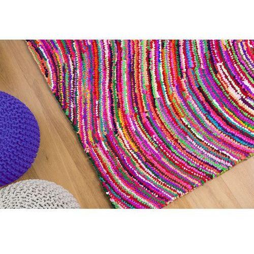Beliani Dywan kolorowy 140x200 cm - bawełna - poliester - kesan