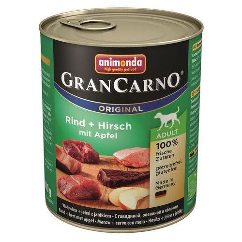 grancarno adult wołowina-jeleń-jabłko 800g marki Animonda