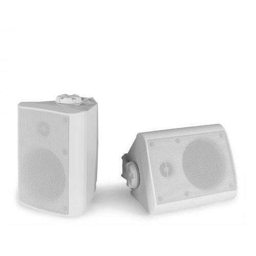 Power Dynamics BGO40 Zestaw kolumn głośnikowych 100 W 4-calowy głośnik niskotonowy 3/4-calowy głośnik wysokotonowy biały (8715693307023)