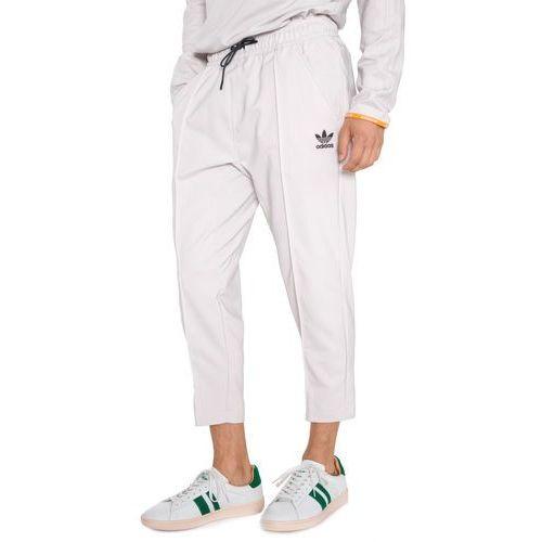 adidas Originals Spodnie Szary Beżowy L, kolor beżowy