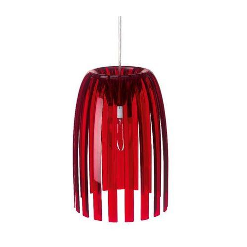 Koziol Josephine - lampa wisząca s czerwony przezroczysty