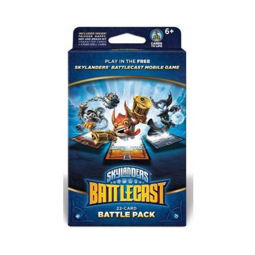 Skylanders Battlecast: Battle Pack B (Trigger Happy, Hex, Smash Hit) Karty do gry SKYLANDERS (5030917186936)